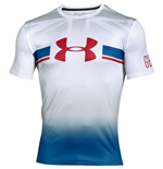 Under Armour Tech Great Britain SS Tee (White)