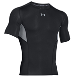 Under Armour Heatgear CoolSwitch SS Compression Tee (Black)
