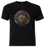 The Beatles Mens Fashion Tee: Sgt Pepper Drum