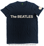 The Beatles Men's Fashion Tee: Logo & Apple