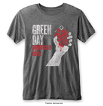 Green Day Men's Fashion Tee: American Idiot Vintage