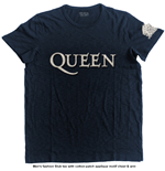 Queen Men's Fashion Tee: Logo & Crest