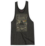 Pink Floyd Ladies Tee Vest: Carnegie Hall with Tassels