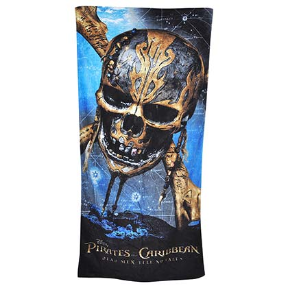 PIRATES OF THE CARIBBEAN Dead Men Beach Towel