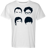 Big Bang Theory T-shirt - Faces