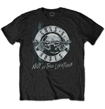 Guns N' Roses Men's Tee: Not in this Lifetime Tour Xerox