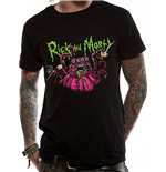 Rick And Morty - Monster Slime - Unisex T-shirt Black