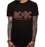 AC/DC - Vintage Let There Be Rock - Unisex T-shirt Black