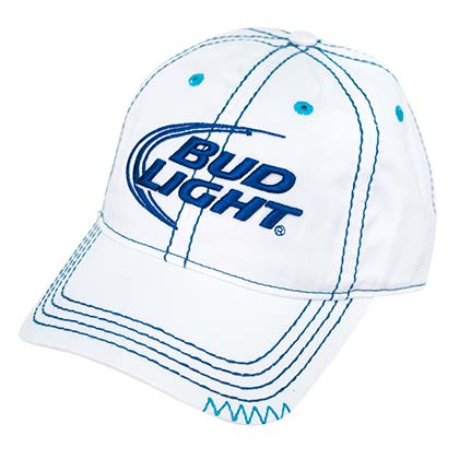BUD LIGHT Women's Blue Stitch Hat