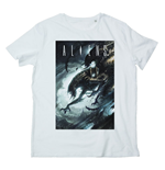 Alien T-Shirt Dark Cave