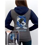 Harry Potter Hooded Zip Sweater House Ravenclaw