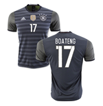2016-2017 Germany Away Shirt (Boateng 17)