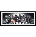 Assassin's Creed - Characters Framed Picture (30x75 cm)