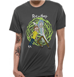 Rick And Morty - Spiral - Unisex T-shirt Grey