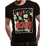 AC/DC - Cartoon - Unisex T-shirt Black