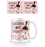 Despicable Me 3 Mug Unicorns I Love Them