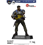 Gears of War 4 Color Tops Action Figure Delmont 'Del' Walker 18 cm