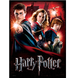 Harry Potter Poster Puzzle Hogwarts