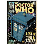 Doctor Who - Tardis Comic Poster Maxi (61x91,5 Cm)