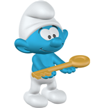 Schleich Figure- Smurf with Key