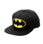 DC COMICS Batman Logo Snapback Baseball Cap, Black