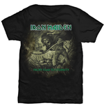 Iron Maiden Men's Tee: From Fear To Eternity Distressed