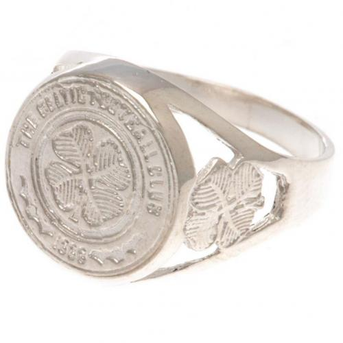 Celtic F.C. Sterling Silver Ring Large