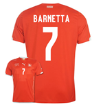 2014-15 Switzerland World Cup Home Shirt (Barnetta 7)