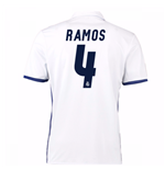 2016-17 Real Madrid Home Shirt (Ramos 4)