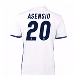 2016-17 Real Madrid Home Shirt (Asensio 20)