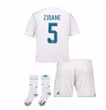 2017-17 Real Madrid Home Full Kit (Zidane 5)