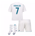 2017-17 Real Madrid Home Full Kit (Ronaldo 7)