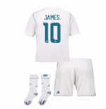 2017-17 Real Madrid Home Full Kit (James 10)