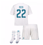 2017-17 Real Madrid Home Full Kit (Isco 22)