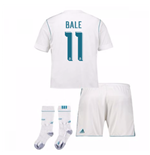 2017-17 Real Madrid Home Full Kit (Bale 11)