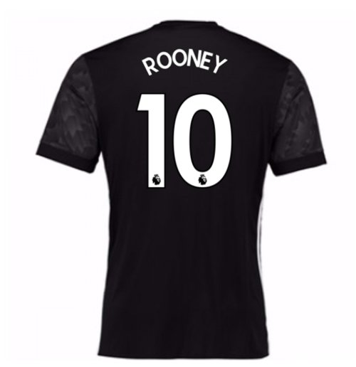 2017-18 Man Utd Away Shirt (Kids) (Rooney 10)