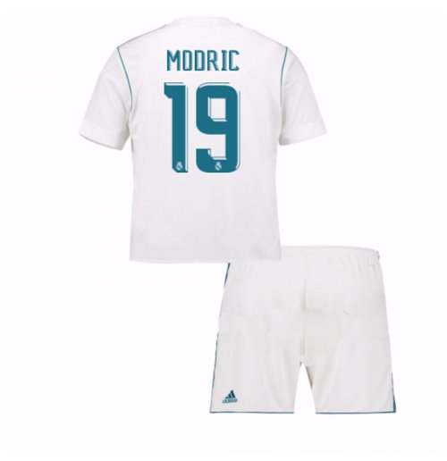 san francisco 23eeb fea1e 2017-18 Real Madrid Home Mini Kit (Modric 19)