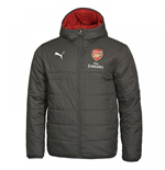 2017-2018 Arsenal Puma Reversible Jacket (Dark Shadow)