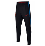 2017-2018 Barcelona Nike Training Pants (Black) - Kids