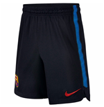 2017-2018 Barcelona Nike Longer Knit Shorts (Black)