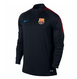 2017-2018 Barcelona Nike Drill Training Top (Black-Energy) - Kids