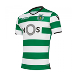 2017-2018 Sporting Lisbon Authentic Home Match Shirt