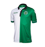 2017-2018 Sporting Lisbon Authentic Stromp Match Shirt