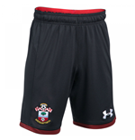 2017-2018 Southampton Home Football Shorts (Black) - Kids