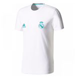 2017-2018 Real Madrid Adidas Training Tee (White)