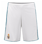 2017-2018 Real Madrid Adidas Home Shorts (White)