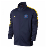 2017-2018 PSG Nike Authentic Franchise Jacket (Navy) - Kids
