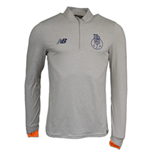 2017-2018 Porto Elite Midlayer Training Top (Grey)