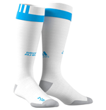 2017-2018 Olympique Marseille Adidas Home Football Socks (White)