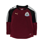 2017-2018 Newcastle Puma Sweat Top (Burgundy) - Kids